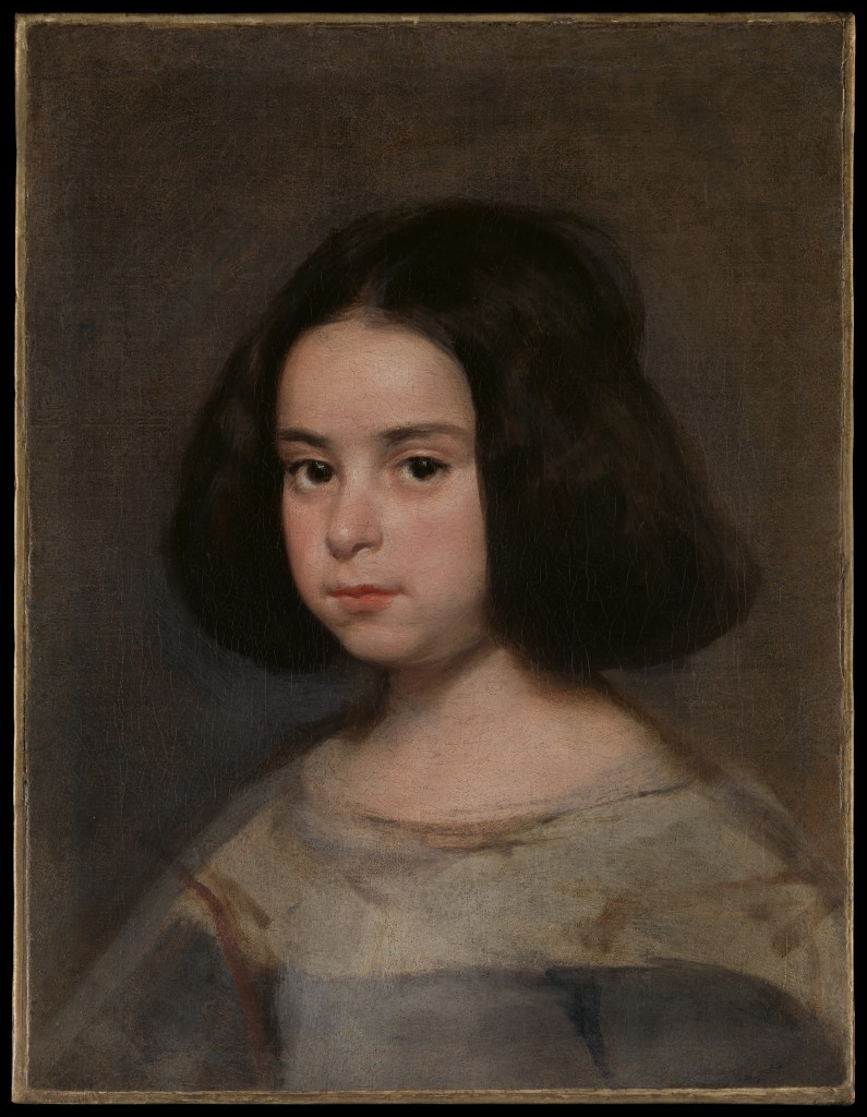 Diego Velázquez. Retrato de niña ca. 1638-44. Nueva York, The Hispanic Society of America
