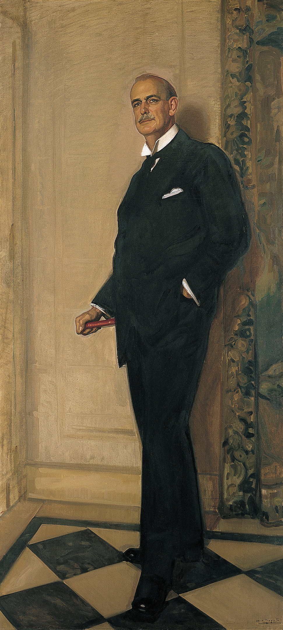 José María López Mezquita. Archer Milton Huntington, 1926. New York, The Hispanic Society of America