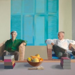 David Hockney, reflexión y parodia