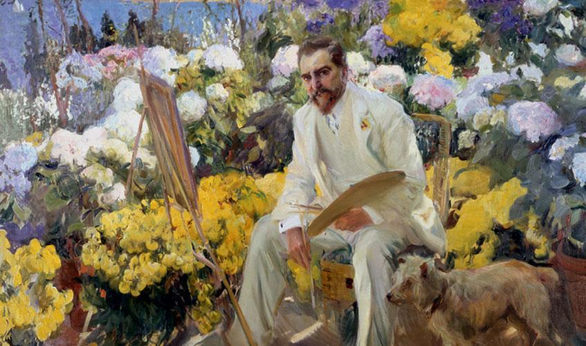 Joaquin Sorolla. Louis Comfort Tiffany, 1911