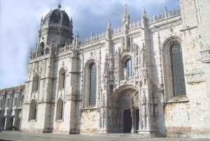 Fachada del Monasterio de los Jerónimos