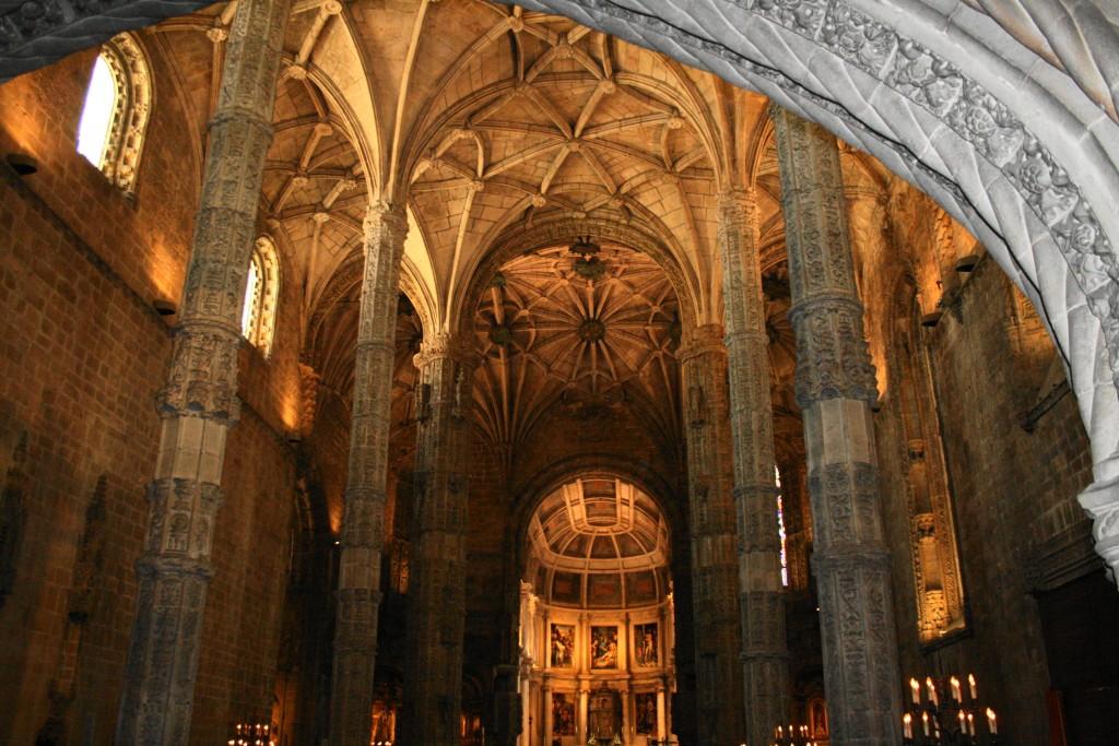 Interior de la Iglesia del Monasterio de los Jerónimos