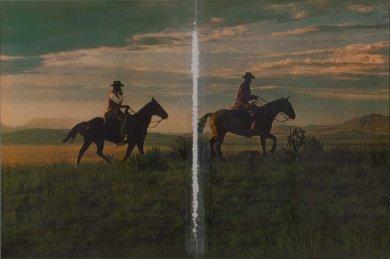"""""""Richard Prince: Untitled (Cowboy)"""" en el LACMA"""