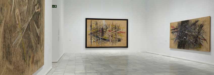 Vista de la exposición de Wifredo Lam en el Museo Reina Sofía