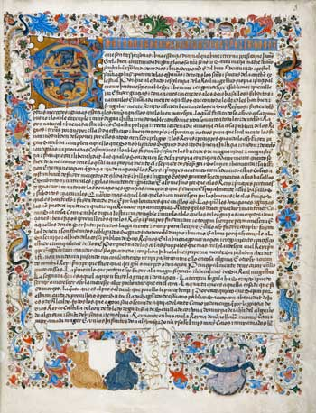 Privilegio rodado de Enrique IV, rey de Castilla y León, por el que se conceden a Alvar Gómez de Ciudad Real, secretario real, de su consejo y regidor de la ciudad de Toledo, los lugares de San Silvestre y Belvís de la Jara. Valladolid, 9 de septiembre de 1458. RB. 14427.