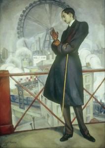 Diego Rivera. Retrato de Adolfo Best Maugard, 1913