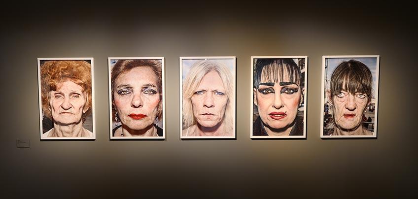 """Bruce Gilden. Sin título, de la serie """"Portraits"""", 2014. Foto tomada con Leica digital.Exposición Espacio Fundación Telefónica"""
