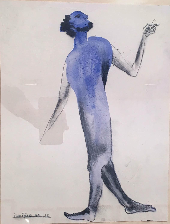 Francisco Leiro. Dibujo 15 (serie NY), 2016