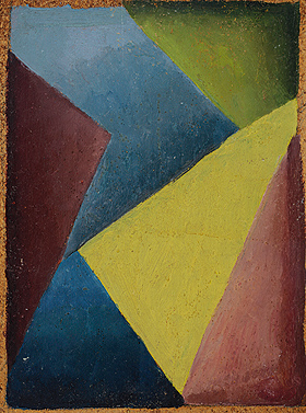 Esteban Lisa. Composición, ca. 1935 (anverso) Colección particular © Fundación Esteban Lisa