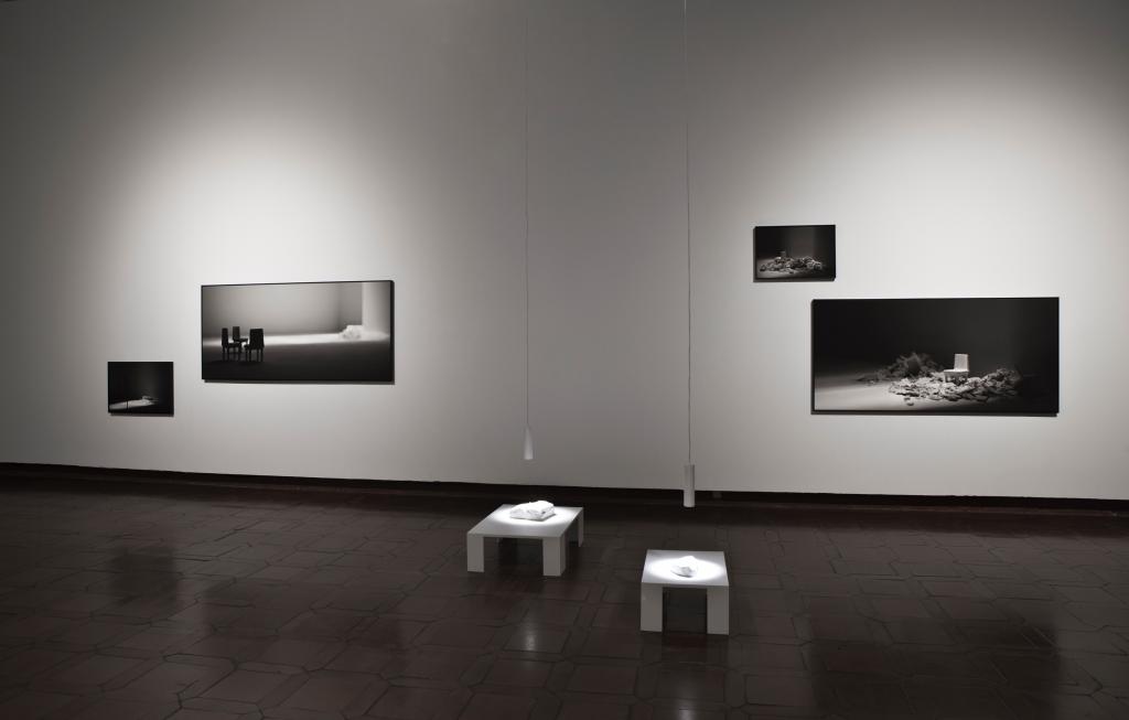 Ignacio Llamas. Sangrar luz. Museo de Santa Cruz