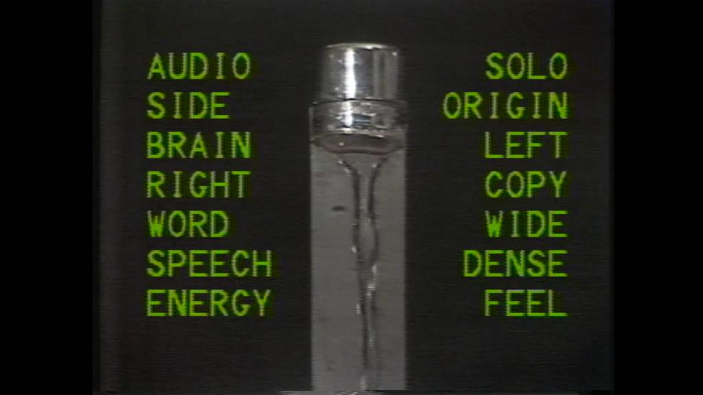 Antoni Muntadas. Media Ecology Ads, 1982