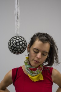 "Rafael Lozano-Hemmer. Sphere Packing, Subsculpture 15"""", 2015"