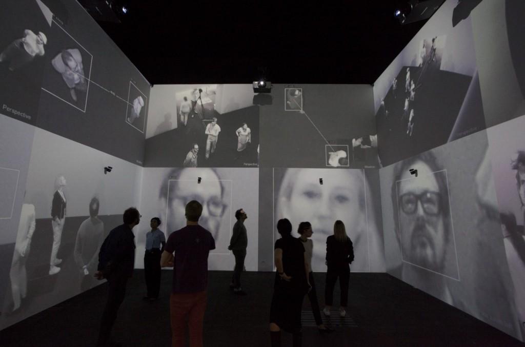 Rafael Lozano-Hemmer. Zoom Pavilion, 2015