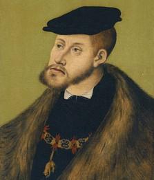 Lucas Cranach el Viejo. Retrato del emperador Carlos V, 1533. Museo Thyssen-Bornemisza