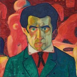 Kazimir Malevich. Self Portrait, 1908-1910  © State Tretyakov Gallery, Moscow