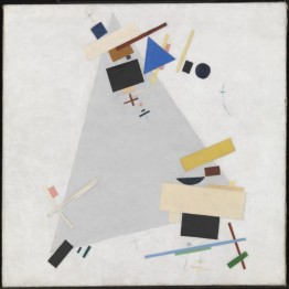 Kazimir Malevich. Dynamic Suprematism, 1915 o 1916