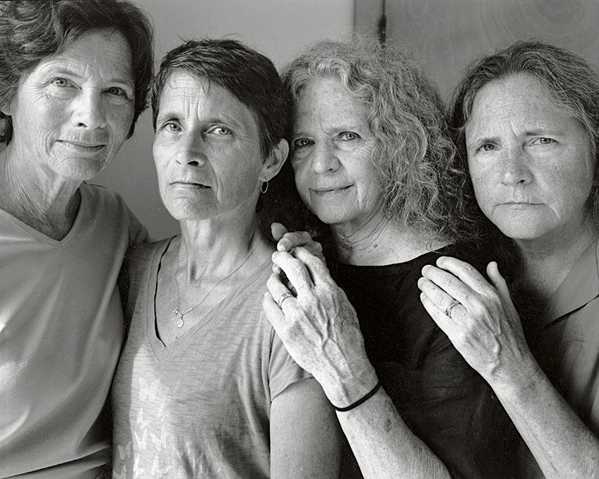 Exposición de Nicholas Nixon en Fundación MAPFRE. Las Hermanas Brown, 2016