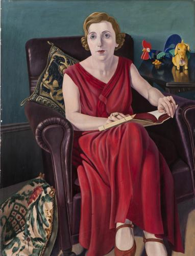 Cagnaccio di San Pietro. Ritratto della signora Wighi,1930-1936