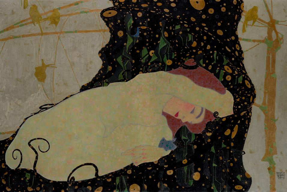 Egon Schiele. Danaë, 1909
