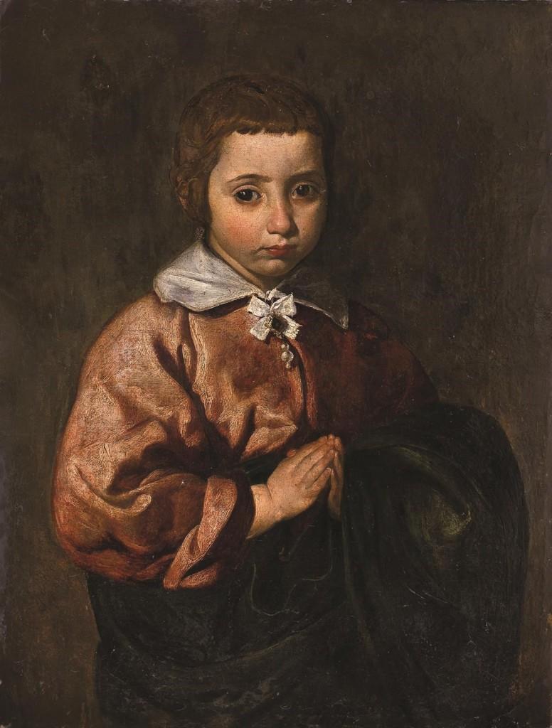 Atribuido a Velázquez. Retrato de una niña, 1617