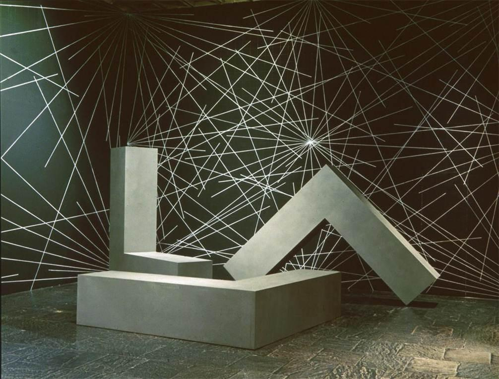 Obras de arte minimalista. Robert Morris. L-Bearns, 1965