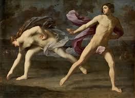Guido Reni. Hipómenes y Atalanta, 1618-1619. Museo Nacional del Prado