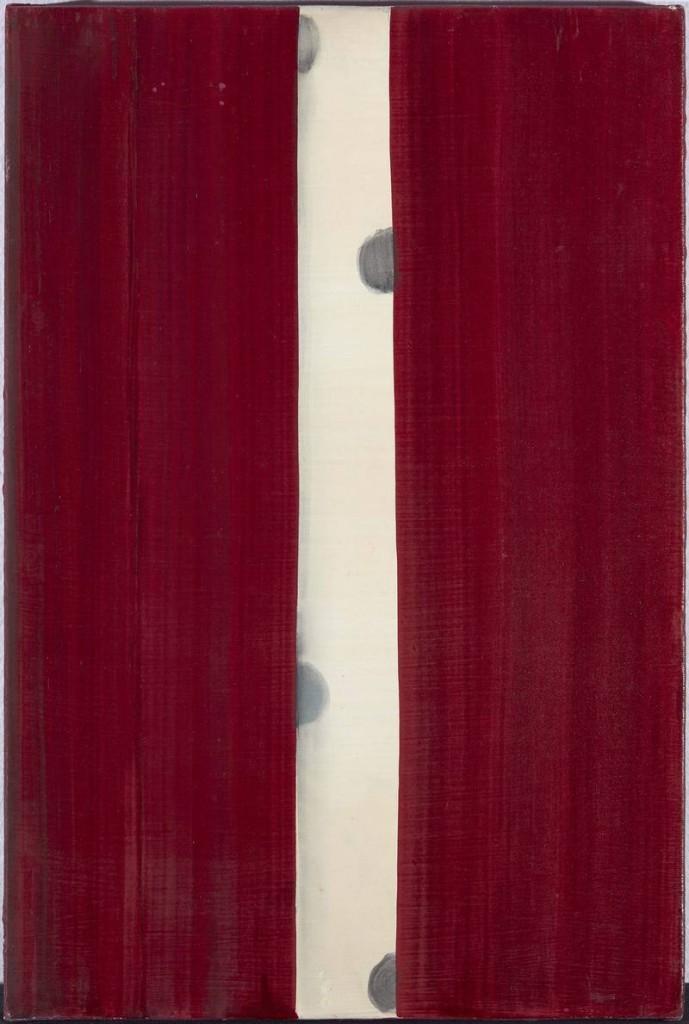 Juan Uslé. Amapola, 1991. Museo Nacional Centro de Arte Reina Sofía. Depósito de la Colección Soledad Lorenzo, 2014