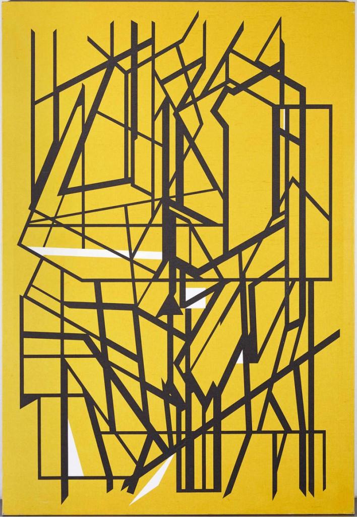 Pablo Palazuelo. De somnis II, 1997. Museo Nacional Centro de Arte Reina Sofía. Depósito de la Colección Soledad Lorenzo, 2014