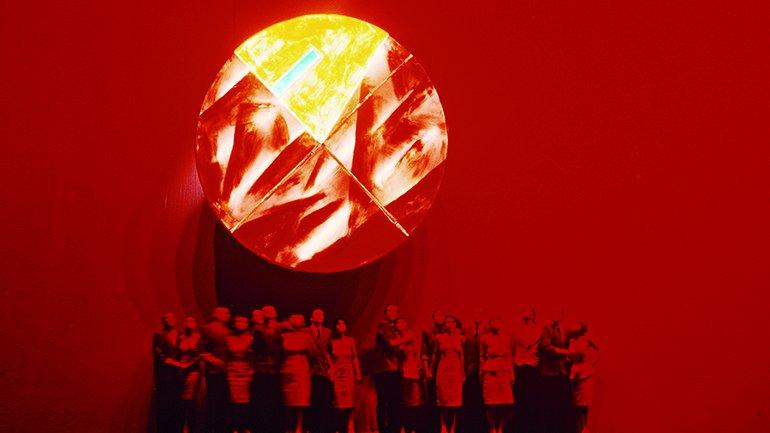 Evento retroguardista Bautismo bajo el Triglav, Teatro de las Hermanas de Escipión Nasica, 1986