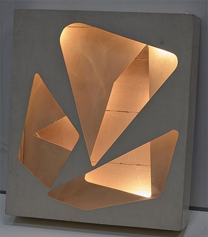 Eusebio Sempere. Relieve luminoso móvil, ca. 1958. Fundación Caja del Mediterráneo