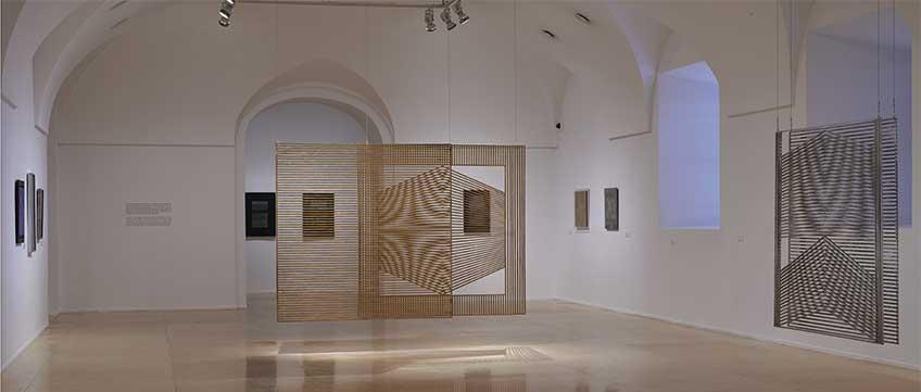 Eusebio Sempere. Exposición Museo Nacional Centro de Arte Reina Sofía, mayo 2018. Foto: Joaquín Cortés/Román Lores