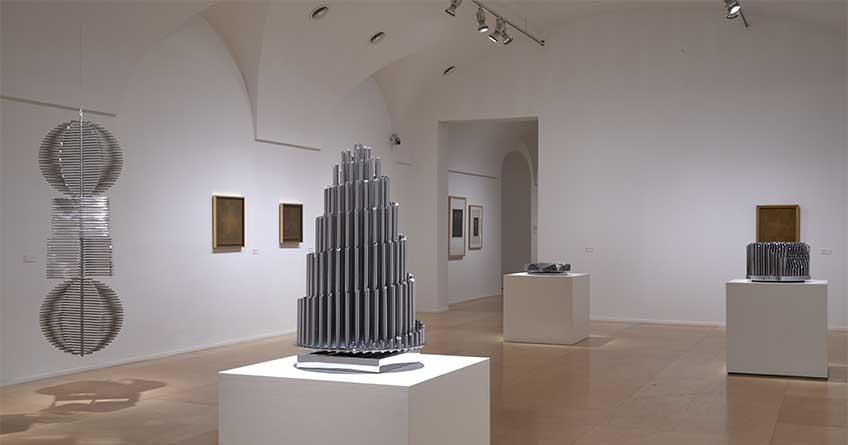 """""""Eusebio Sempere"""". Exposición Museo Nacional Centro de Arte Reina Sofía, mayo 2018. Foto: Joaquín Cortés/Román Lores"""