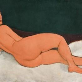 El desnudo acostado de Modigliani, nueva obra más cara vendida por Sotheby´s