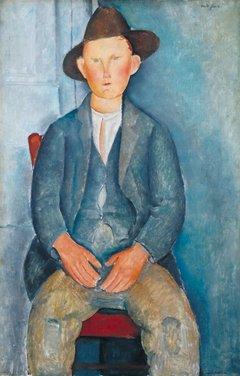Amedeo Modigliani. El pequeño campesino, hacia 1918. Tate