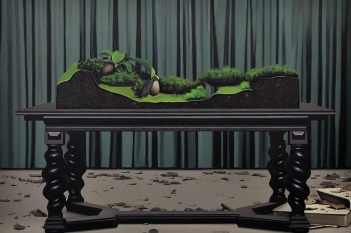 Antonio Montalvo. Diorama, II Premio Solán de Cabras de Arte Joven en ARCOmadrid 2017