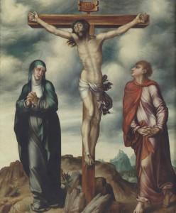 Luis de Morales. El Calvario, hacia 1566. Museo Nacional del Prado. Donación Plácido Arango
