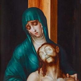 Luis de Morales. La Piedad, hacia 1563. Polán (Toledo ),  Parroquia de San Pedro y San Pablo