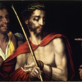 Luis de Morales. Cristo presentado al pueblo, hacia 1570. Madrid, Museo de la Real Academia de Bellas Artes de San Fernando