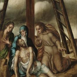 Luis de Morales. Lamentación ante Cristo muerto, hacia 1566. Museo de Salamanca. Ministerio de Educación, Cultura y Deporte