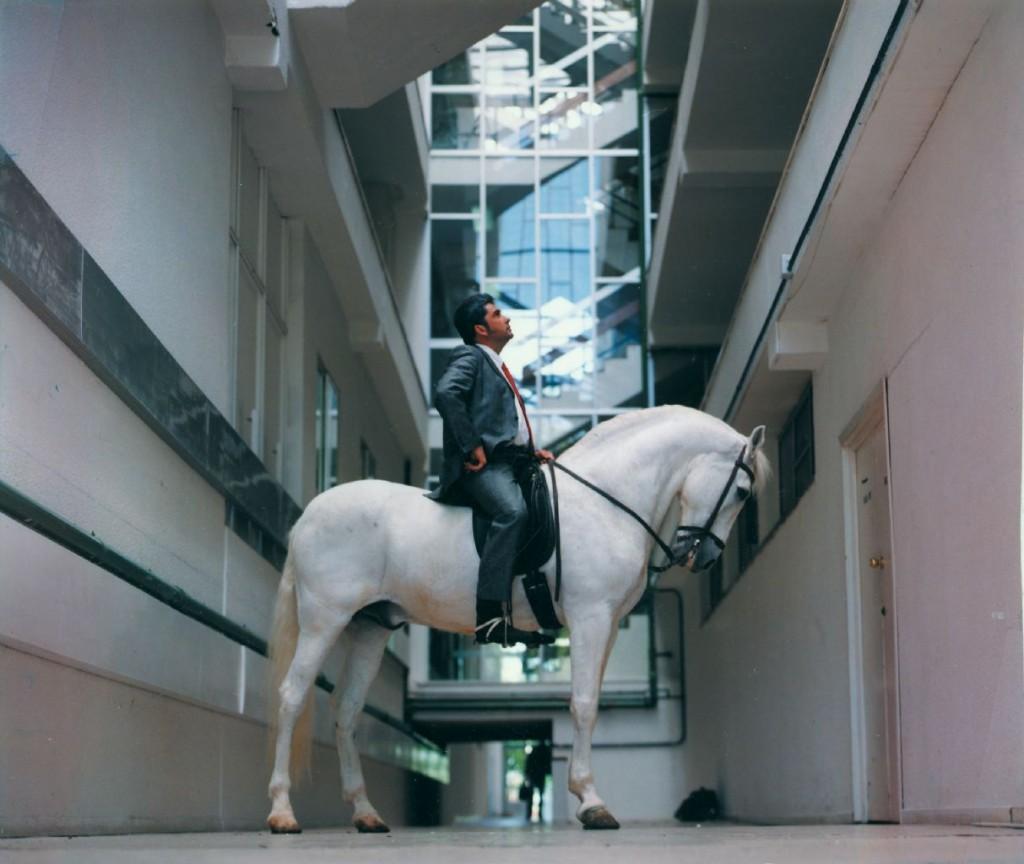 Fernando Sánchez Castillo. Arquitectura para el caballo, 2002. Colección MUSAC