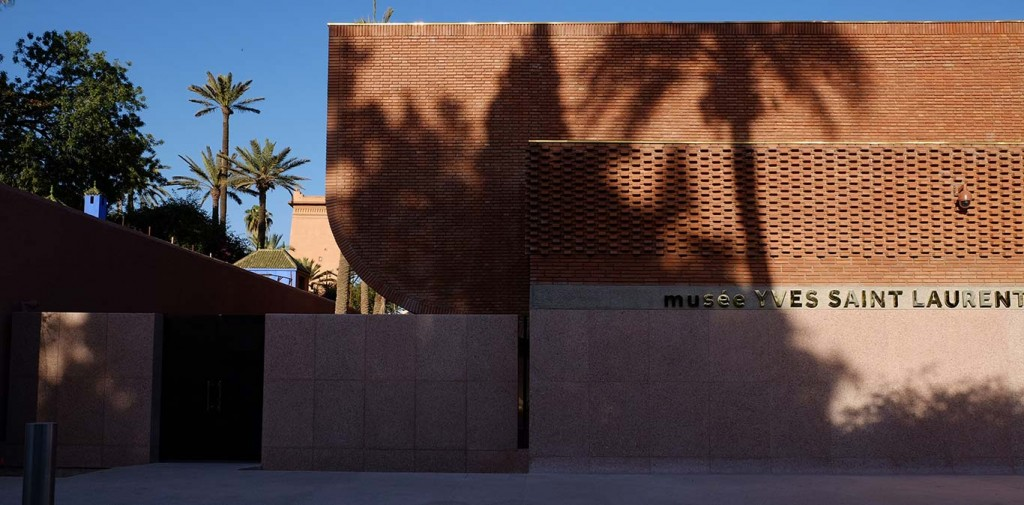 Museo Yves Saint Laurent en Marrakech