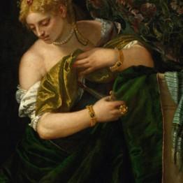Veronés. Lucrecia, hacia 1580-1585