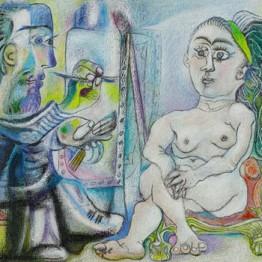 Picasso. El pintor y la modelo, 1963
