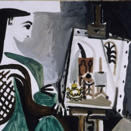 Picasso. Mujer en el taller (Jacqueline Roque), 1956