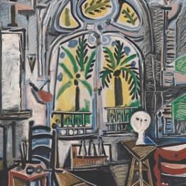 Picasso. El taller, 1955