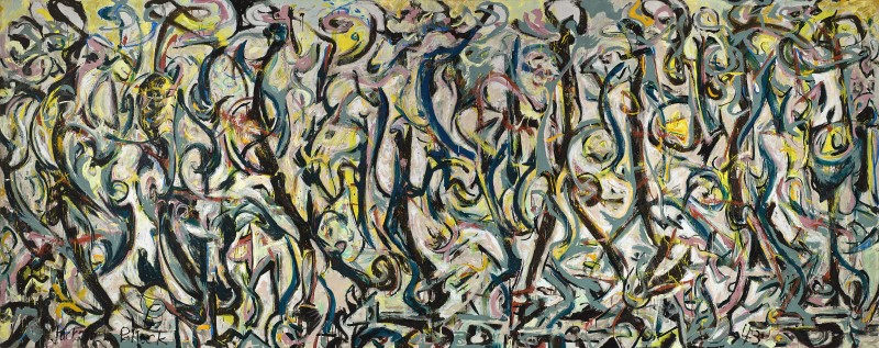 Jackson Pollock. Mural, 1943. © The Pollock-Krasner Foundation, VEGAP, Madrid, 2016