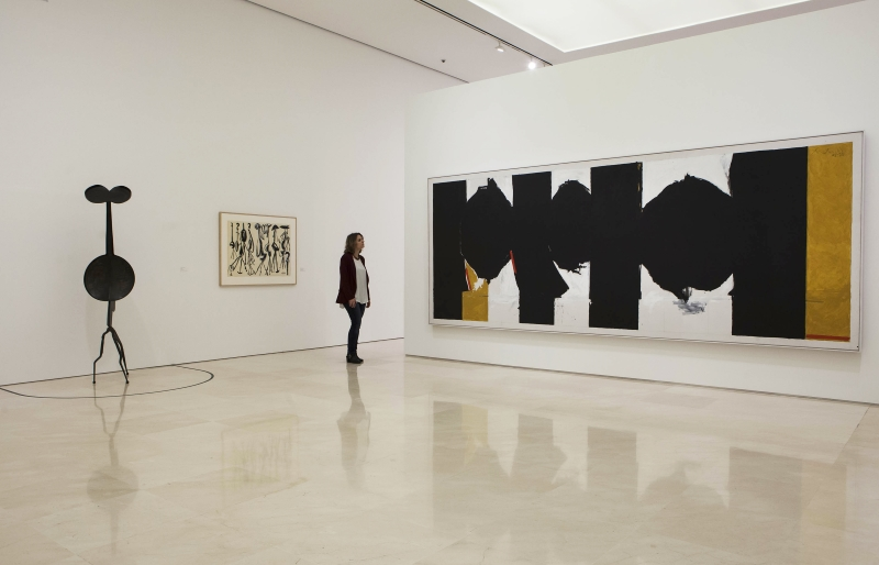 Mural. Jackson Pollock. La energía hecha visible