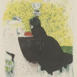 Edouard Vuillard, color, litografía
