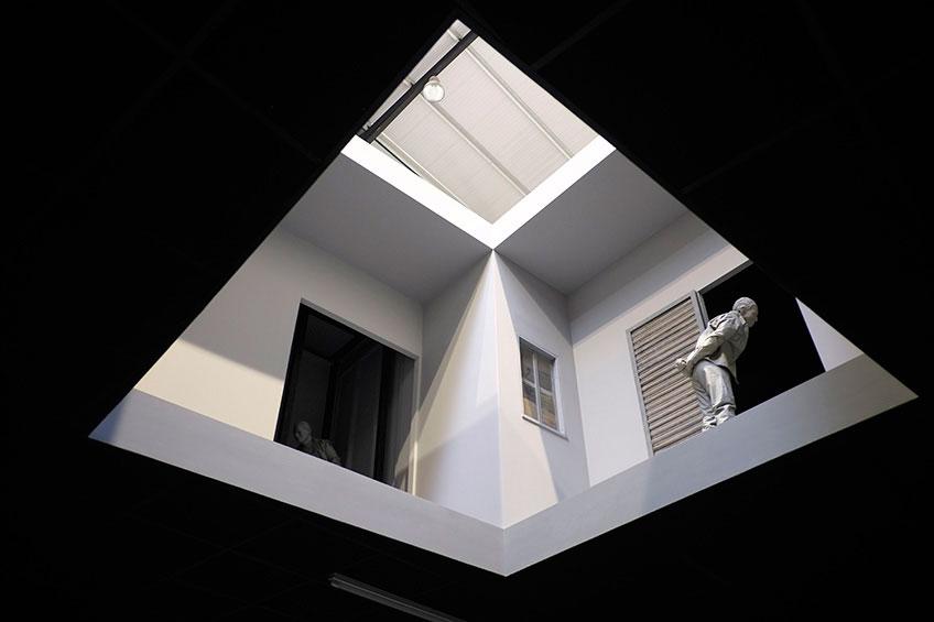 Juan Muñoz. Double Bind, 2001. Instalación en PLANTA, 2017. Foto: masdearte