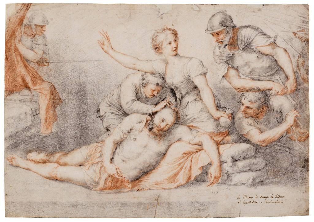 José de Ribera. Sansón y Dalila. Mediados 1620. Córdoba, Museo de Bellas Artes de Córdoba